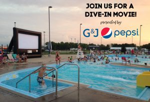 Dive-in Movie Presented by G&J Pepsi Bottlers, Inc. @ Falling Springs Center