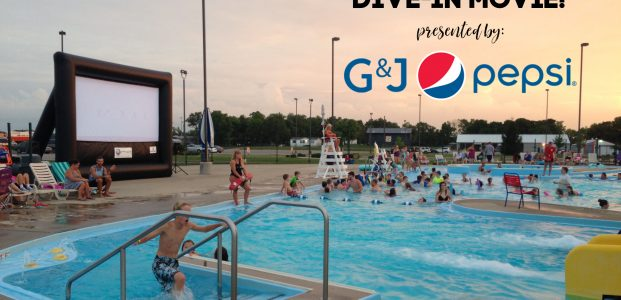 Dive-in Movie Presented by G&J Pepsi Bottlers, Inc.